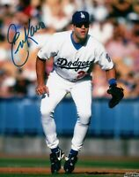 Eric Karros Signed Autographed 8X10 Photo LA Dodgers Home at 1st Base w/COA