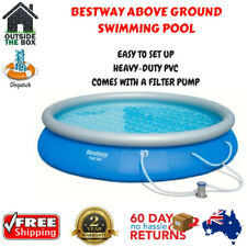 Swimming Pool Above Ground Filter Pump Summer Inflatable Triple Ply Side Walls