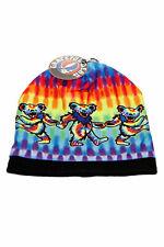 Grateful Dead Knit Beanie Dancing Bears Winter Ski Hat Skull Cap