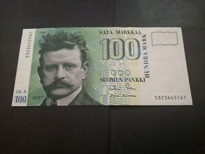 Finland 100 Markaa 1986 EF+