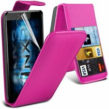 "Apple iphone 6 6s + plus 5.5"" PU Leather wallet flip case pouch cover Pink"
