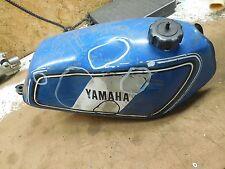 yamaha dt125 dt175 fuel gas petrol tank blue 1977 1978 1979 1980 1981 77 78 79