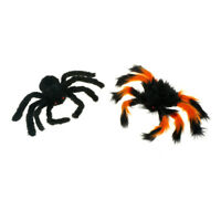 1pc Spider Halloween Decoration Haunted House Prop Indoor Outdoor Black GiantEP