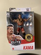 Mattel Wwe Elite Collection Kama Action Figure - Collector's Edition New Sealed