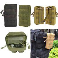 Tactical Utility Molle Pouch Compact EDC First Aid Tool Waist Bag Belt Backpack