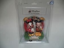 Minnie Mouse And Mickey Mouse Ceramic Walt Disney World Disneyland Salt & Pepper