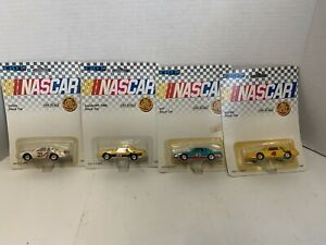 Set Of 4 1990 ERTL 1:64 NASCAR DIECAST STOCK CARS NEW HH1