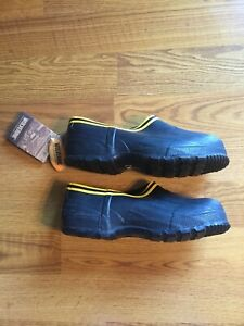 NWT Vintage Wolverine Black Rubber Boots / Boot Covers  Short Ankle Size 10