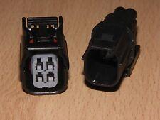 Honda VT 750 S y RS Shadow 2010 - 2014 O2 Enchufe Eliminador de Sensor de Oxígeno Conjunto