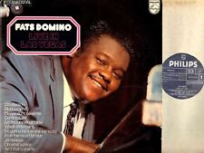 FATS DOMINO live in las vegas LP EX/VG 6336 217 blues rock uk philips