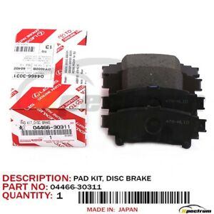 Genuine Lexus OEM Factory F-Sport Rear Brake Pad 2013-2015 GS350 2WD