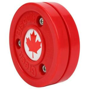 Green Biscuit Olympic Canada Puck
