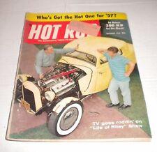 Vintage Hot Rod Car Magazine December 1956 TV Life of Riley 300 HP  +