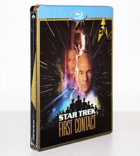 STAR TREK VIII. FIRST CONTACT [STEELBOOK LIMITED EDITION BLU-RAY DISC] RARO