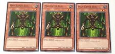 3x YuGiOh New Unlimited Common Man-Eater Bug DEM1-EN005 from Demo Pack Unused