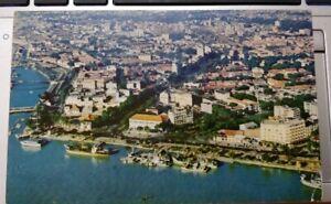 Aerial of Saigon Vintage Postcard - printed HK, color photo James Pickerell
