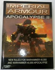 Forge World Warhammer 40K Imperial Armour Apocalypse II Rule Book