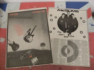 """THE JAM """"All Mod Cons"""""""" New LP + UK TOUR In COLOUR 1978 Orig NME ADVERT/POSTER"""
