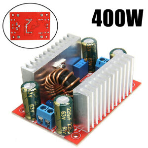 400W DC-DC Step Up Boost Spannungsregler Aufwärtswandler Modul 10 - 60 V 150 kHz