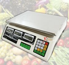 66Lb 30Kg Front And Back Digital Price Deli Food Meat Computing Scale