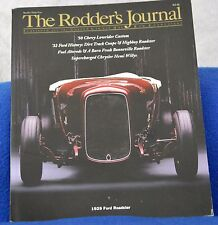 Rodders Journal Magazine #34 1929 Ford Roadster 1933 Willys Coupe Hemi Willys