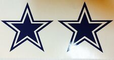 Parjohhenr Dallas Cowboys Star Hot Pink  - 2 Pack Decal**FREE SHIPPING**