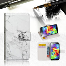 Marble Shape Stone Wallet Case Cover For Samsung Galaxy S5 - A029