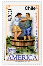 Chile 2008 #2335 America UPAEP serie Fiestas Nacionales La Vendimia MNH