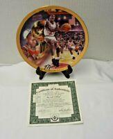 1981 Bradford Exchange Michael Jordan Championship Collector Plate(#48)