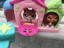 Littlest Pet Shop Sportiest Pet FOX#673 & DACHSHUND#675 Authentic! 100% W/ House