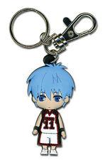 **License** Kuroko No Basuke Basketball PVC Keychain SD Tetsuya Kuroko #36814