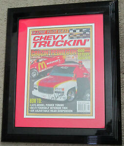 Cruz Pedregon Signed and Framed Magazine 11x14