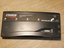 StarView SV411-conmutador KVM PC de uso compartido de 4 puertos StarTech