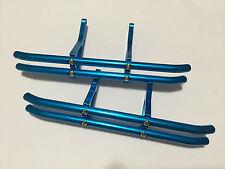Aluminum Front + Rear Bumper for Traxxas Tmaxx 2.5 -Blue