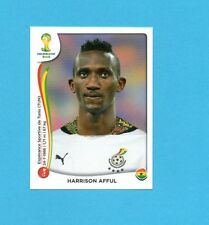 BRASILE 2014-PANINI-Figurina n.532-AFFUL-GHANA-NEW BLACK BACK