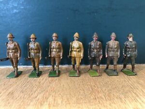 Britains: Devonshire Regiment At The Trail. Pre War c1920-40