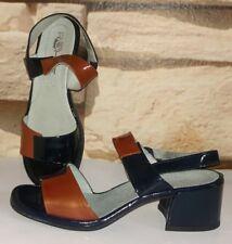 Rohde Damen Sandalen Sandaletten Lack Leder  Gr.3 1/2 Gr.36 Neu!