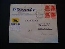 Lettera Società Italia 40 LIRE MEF dopo Reggio Emilia-b4697