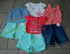 Size 8 years outfits Gymboree,Desert Dreams,NWT,tops,shorts,7 pc. set