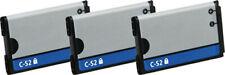 3x Battery for Blackberry C-S2 CS2 C S2 8300 8310 8320 8330 8520 8530 9300 9330