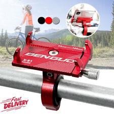 GUB Alu Fahrrad Halter Handy Motorrad Halterung Bike Smartphone Universal Mofa