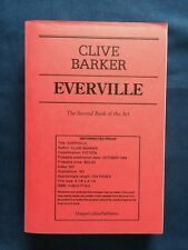 EVERVILLE - UNCORRECTED PROOF OF FIRST AMERICAN EDITION BY CLIVE BARKER