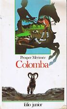 Colomba * Prosper MERIMEE * folio junior livre jeunesse Gallimard Corse aventure