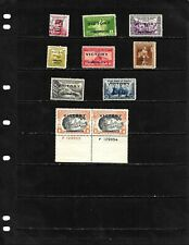 PHILIPPINES ;NICE 'VICTORY ISSUES'  STAMP LOT  DISPLAYED ON 1 SHEET. SEE SCANS