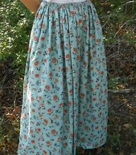 Full Long Regular Size Floral Skirts for Women