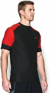 Men's Under Armour CoolSwitch Pitch Short Sleeve Training Top 1277774 New Size M