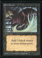 Dark Ritual BETA Magic the Gathering 1993 MTG Magic