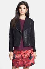 Ted Baker Leather/ Ponte Moto Jacket