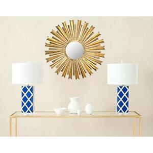 """Safavieh Golden Arrows Sunburst Mirror - Antique Gold - Size: 33"""" x 33"""""""