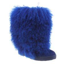 Bearpaw Boetis - Women's Furry Boots - 1294w Cobalt Blue - 9